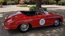 70 Porsche sulle strade del Lazio per i 70 anni della casa di Stoccarda