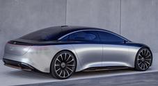 Mercedes Vision EQS, ecologia e design. L'ammiraglia del futuro proviene da Stoccarda