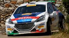 CIR, Andreucci-Andreussi (Peugeot) dominano il rally del Salento ed allungano nella generale