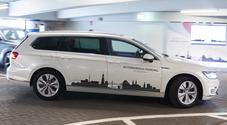 Parcheggio automatico by Volkswagen, esibizione all'aeroporto di Amburgo