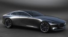 Mazda, a Tokyo il futuro viaggia su due strade: l'high tech di Kai concept e la dinamicità di Vision coupé