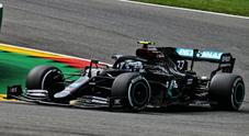 Bottas il più veloce nel 1° turno libero del GP di Spa, Ferrari sempre più giù e motori clienti ko