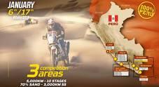 Dakar: al via in Perù il 7 gennaio 41^ edizione con 21 italiani. Un raid lungo 5.541 km