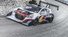 Una cavalcata verso le nuvole: Peugeot e Loeb scrivono la storia