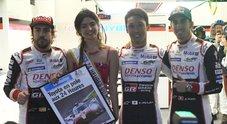 Toyota di Nakajima conquista la pole a Le Mans davanti l'altra TS050. Nella LMP2 dominano le Oreca