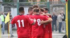 Tre gol, tre punti e terza vittoria di fila per l'Anconitana