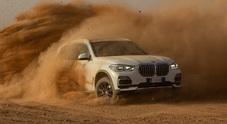 BMW, il circuito di Monza riprodotto nel deserto del Sahara per un test mozzafiato della nuova X5