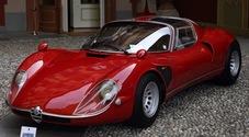Alfa Romeo 33 Stradale del 1966 vince la Coppa d'Oro Villa d'Este 2018