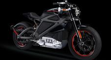 Rivoluzione Harley Davidson, arriva l'elettrica LiveWire. In vendita entro il 2019
