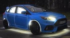 L'auto sportiva è adrenalina, lo dimostra una ricerca Ford fatta su una speciale Focus RS che legge le emozioni