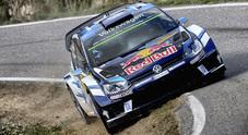 Rally di Spagna, Mikkelsen contro un albero. Ogier (VW Polo) è già virtualmente campione