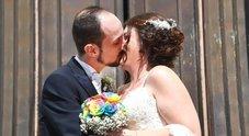 Sfollati dopo il crollo di Genova, Andrea e Daniela hanno detto sì: «Casa è essere insieme»