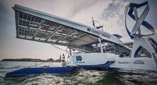 L'idrogeno prende il largo. A bordo dell'ecologico catamarano Energy Observer a Venezia