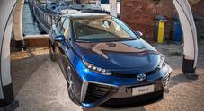 Mirai, la berlina Toyota a fuell cell sbarcherà anche in Italia nel 2019