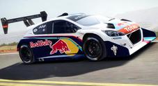 """Loeb """"si regala"""" la Peugeot 208T16 Pikes Peak dei record da 875 cavalli"""