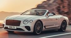 Continental GT Convertible, al volante della Bentley cabrio a 4 posti: un capolavoro di stile, comfort ed eleganza