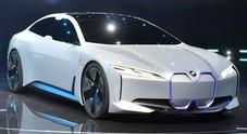 BMW i Vision Dynamics Concept, la berlina elettrica antiTesla arriverà nel 2021