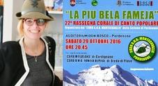 """La svolta rosa di """"Fameja Alpina"""": la vicentina Sara nuova direttrice"""