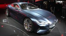 Serie 8 concept, sotto i riflettori di Francoforte la nuova frontiera del lusso BMW