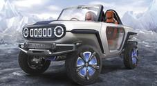 Suzuki e-Survivor concept, anche il fuoristrada prende la strada dell'elettrico