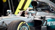 Hamilton retrocesso di 5 posizioni in Cina: «Cambio sostituito dopo il Bahrain»