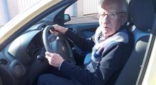 Vilfrido, patente rinnovata a 89 anni: «Cinque test con un simulatore comandato»