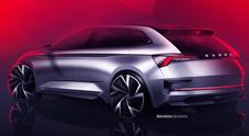 Skoda, a Parigi mostra il futuro nel concept Vision RS. Sportività, ma anche sostenibilità e digitalizzazione