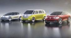 Rivoluzione elettrica a Wolfsburg, dal 2020 una famiglia tutta elettrica in Casa Volkswagen