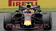 GP Mexico, prima fila Red Bull: Ricciardo beffa Verstappen, Hamilton 3°, Vettel 4° con la Ferrari