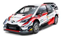 Toyota toglie il velo alla Yaris WRC 2018 con le novità aerodinamiche