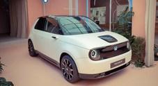 Honda e-Prototype: concept elettrica protagonista alla settimana del Design di Milano