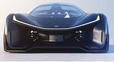 Faraday Future FFZERO1: l' elettrica cinese che ha messo nel mirino la Tesla