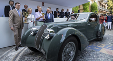 Concorso d'eleganza, una Lancia Astura del 1933 vince la Coppa d'Oro di Villa d'Este