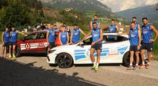 Honda Civic e CR-V in ritiro con la nazionale italiana Volley