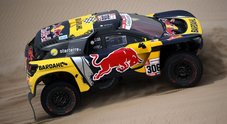 Loeb (Peugeot) si riscatta nella 2^ tappa. Nelle moto Walkner (KTM) la spunta su Brabec (Honda)