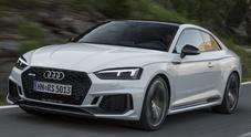 Audi RS 5 Coupé, dalla strada alla pista senza timori: 450 cv al servizio di eleganza e sportività
