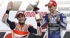 Lorenzo domina a Motegi, Marquez è 2° e a Valencia gli basta il quarto posto per conquistare il titolo