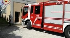 I vigili del fuoco in azienda