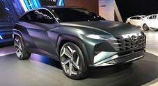 Hyundai Vision T, il concept che prefigura la prossima Tucson è ibrido plug-in