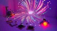 """La """"Stanza Magica"""": un luogo multisensoriale ideato e progettato da un team di 12 ingegneri del Politecnico i Milano con diverse specializzazioni (informatica, meccanica, dei materiali e design) che servirà per stimolare i sensi dei bambini."""