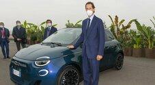 Fca, Elkann: «Fiat 500 forte dimostrazione concretezza»