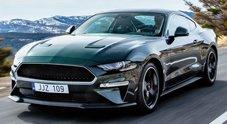 Ford annuncia a Ginevra: anche in Europa la Mustang Bullitt che evoca le imprese di Steve McQueen
