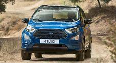 Ford, super diesel e trazione 4x4: ecco il top dell'EcoSport