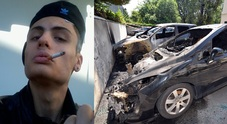 Daniele Martorana e le ultime due auto bruciate
