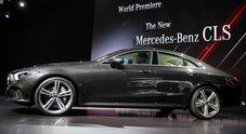 Mercedes, con la nuova CLS la Stella brilla su Los Angeles. Svelata all'Auto Show la coupé 4 porte anche mild hybrid