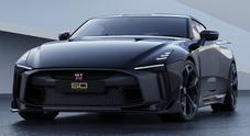 """Nissan, arriverà a fine 2020 la GT-R50 by Italdesign, """"mostro"""" con motore V6 biturbo da 720 cavalli"""