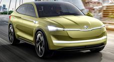 Skoda Vision E, il Suv a trazione elettrica e guida autonoma del marchio ceco
