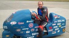 Bill Warner, il motociclista jet muore a 460 all'ora