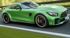 Mercedes AMG GT R, la coupé ancora più estrema è una belva da 585 cv
