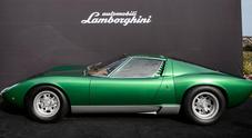 Lamborghini apre il PoloStorico, Domenicali: «Chi guarda al futuro preserva i modelli classici»